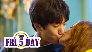 Video Top 5 Korean Drama Kisses Early 2016 MP3, 3GP, MP4, WEBM, AVI, FLV April 2018