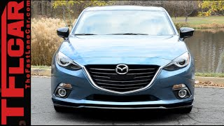 3. 2015 Mazda3 Review: Putting the Zoom Zoom in a Small Compact Car