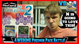 Pokemon Cards Ultimate Collection 2 Box Opening Battle vs The Pokemon Evolutionaries by ThePokeCapital