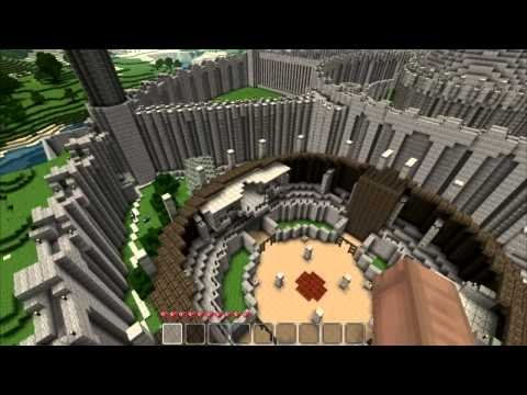 Oblivion Meets Minecraft in The Imperial City