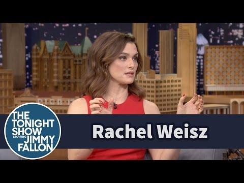 Rachel Weisz Teaches Jimmy How to Pronounce Michael Caine