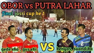 Video FINAL JASRI CUP 1 - OBOR vs PUTRA LAHAR  (mang kenyos, gede eka, gus eki, kuwait, putu sidemen) MP3, 3GP, MP4, WEBM, AVI, FLV Desember 2018