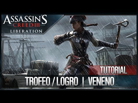 Assassin's Creed 3 Liberation HD | Trofeo / Logro Veneno (Enloquecedor) (matar 5 enemigos)