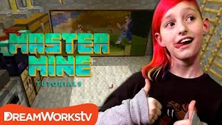 How to Build a Secret Lair in Minecraft with Millie from Game Kids | MASTER MINE TUTORIALS