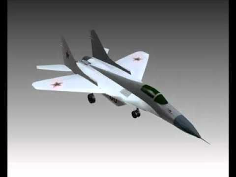 MiG 29A Fulcrum Soviet interceptor...