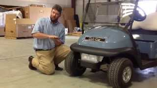 10. Jerry Pate/Club Car Service School - How to align your Precedent