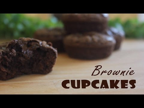 Chocolate Brownie Cupcakes Recipe