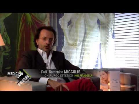Il Dott.Domenico Miccolis illustra le qualità e le caratteristiche della nuova linea cosmetica BIHO,