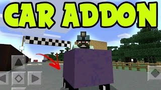 MCPE ADDON - WORKING CAR ADDON and BEHAVIOR PACK! // 0.16.0 UPDATE - Minecraft PE (Pocket Edition)