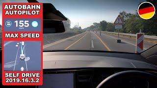 Tesla Top Speed On Navigate on Autopilot & Lane Changing (Germany Autobahn) by Pokemon Cards