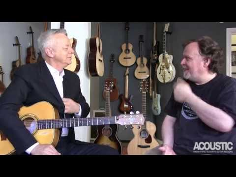 Tommy Emmanuel interview and fingerstyle lesson (видео)