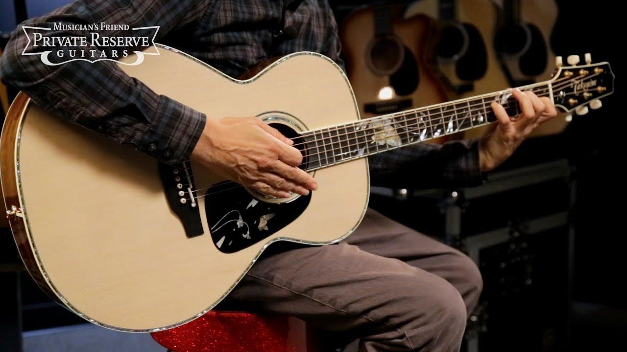 Takamine LTD 2018 Gifu-Cho Acoustic-Electric Guitar