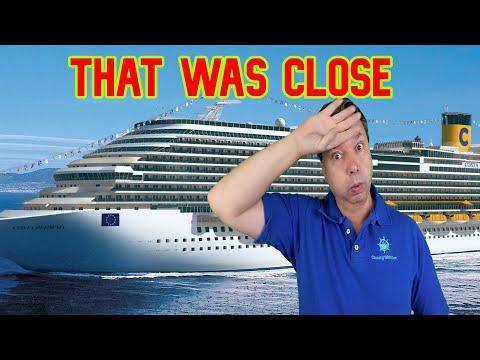 Passengers Fail Test on Costa Cruise Ship - Cruise Ship News