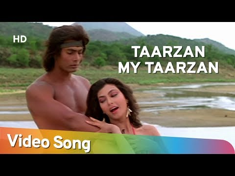 Video Tarzan My Tarzan Aaja Main Sikha Du Pyar | Kimi Katkar | Tarzan | Bollywood Songs HD | Alisha Chinoy download in MP3, 3GP, MP4, WEBM, AVI, FLV January 2017