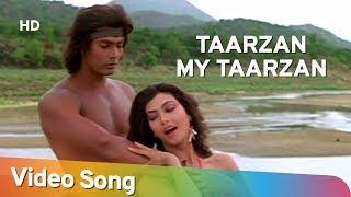 Video Tarzan My Tarzan Aaja Main Sikha Du Pyar | Kimi Katkar | Tarzan | Bollywood Songs HD | Alisha Chinoy download in MP3, 3GP, MP4, WEBM, AVI, FLV January 2017
