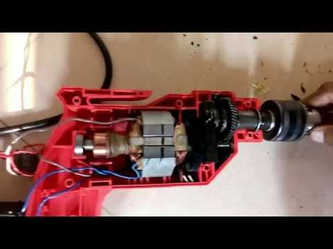 How to repair Drill Machine