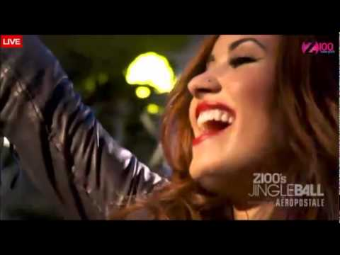Video Demi Lovato - How To Love (Cover)  Live at  Z100's Jingle Ball 2011 download in MP3, 3GP, MP4, WEBM, AVI, FLV February 2017