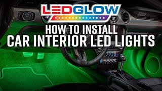LEDGlow   How To Install Car Interior LED Lights
