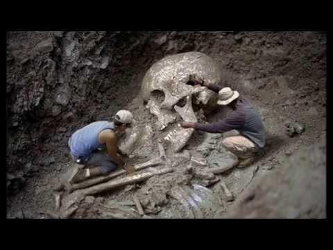 prove reali di una razza di giganti vissuti sulla terra