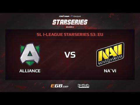 Alliance vs Natus Vincere, Game 1, SL i-League StarSeries Season 3, EU
