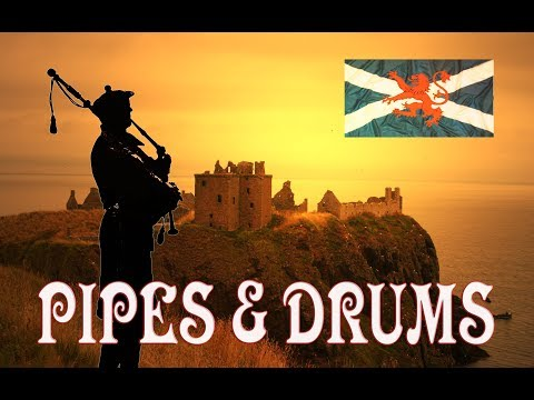 🎵💥💥Scotland the Brave Extended💥Pipes & Drums💥💥🎵