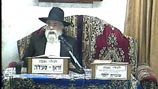 הרב אהרון ירחי – הלכות שבת – קידוש בבית הכנסת