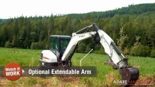 1. Bobcat Mini Excavator | E55 in Action