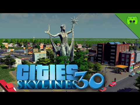 CITIES SKYLINES # 30 - Achievement Jagd «» Let's Play Cities Skylines | HD60