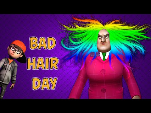 Scary Teacher 3D - Bad Hair Day - Funny Prank Episode#9 (Android,Ios)