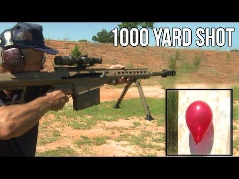 Cú bắn chuẩn xác ở khoảng cách 1000 m của cụ ông Jerry Miculek: