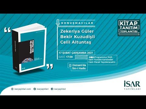 İSAR Yayınları | Osmanlı'da İlm-i Hadis Kitabı Tanıtım Toplantısı