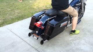 5. 2004 Harley Davidson Road King Custom slip on exhaust sound