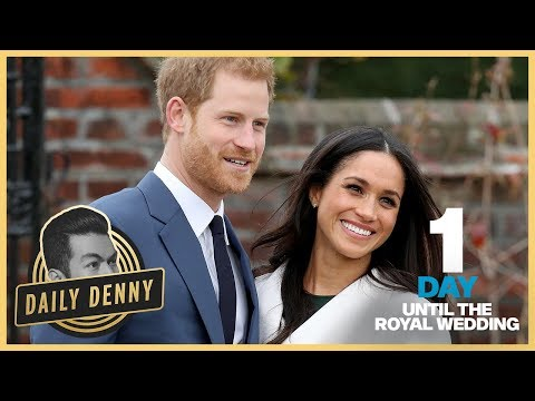 1 Day Until The Royal Wedding