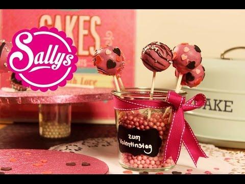 Schokoladen-Cakepops für den Valentinstag