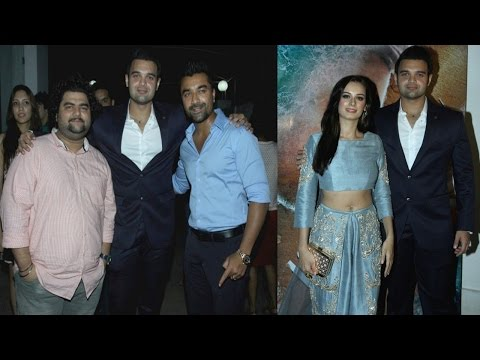 Evelyn Sharma & Mahaakshay Chakraborty Launched The Trailer Of Film Ishqedarriyaan
