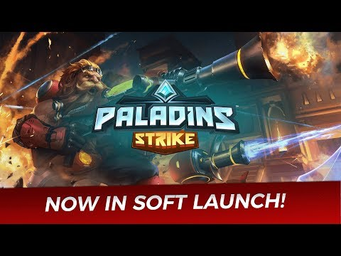 Paladins Strike for mobile