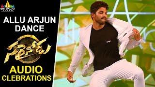 Video Allu Arjun Dance at Sarrainodu Movie Audio Celebrations | Sri Balaji Video MP3, 3GP, MP4, WEBM, AVI, FLV Agustus 2018