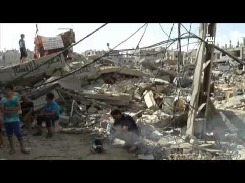 شوارع غزة تزدحم بسيارات النازحين العائدين للديار