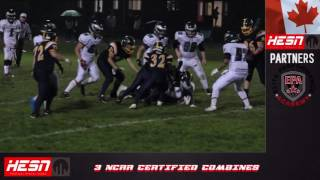 NCAFA 2K16 - BANTAM - Week 4 Bell Warriors VS Nepean Eagles