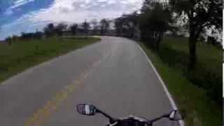 9. 2012 fz6r ride and review with extras