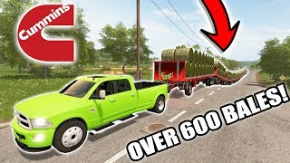 Nonton FARMING SIMULATOR 2017 | CUMMINS BALE CHALLENGE | HAULING 600+ BALES! Film Subtitle Indonesia Streaming Movie Download