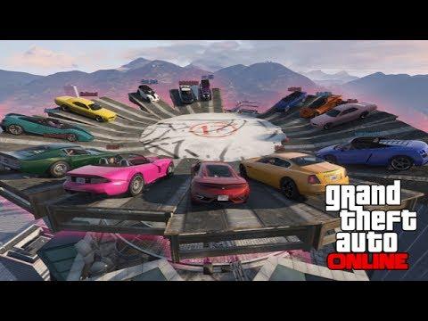 GTAV Online - ps3 - Modified Maze Bank Demo Derby! - 3/23/14 (видео)