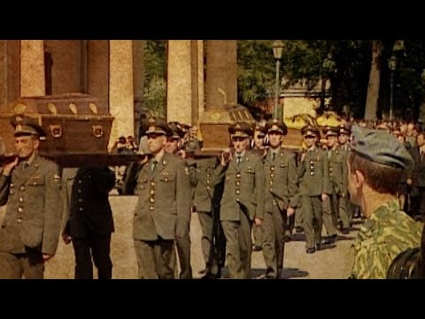 Vor 20 Jahren: Das Zarenbegräbnis