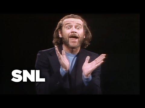 Monologue: George Carlin on Football and Baseball - SNL