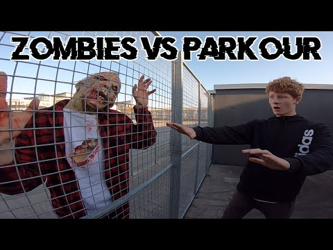 ZOMBIES VS PARKOUR IN REAL LIFE