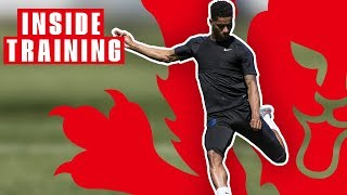 England are BACK! Players Train Hard Ahead of Nations League Finals | Inside Training