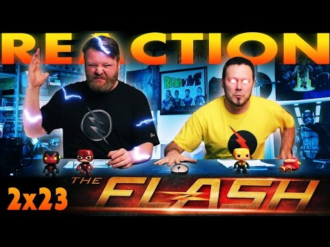 "The Flash 2x23 FINALE REACTION And SLAPBET!! ""The Race Of His Life"""