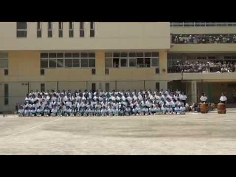 2015桐朋女子中学校体育祭☆応援交歓☆中1
