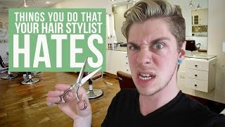 Video Things You Do That Your Hair Stylist HATES MP3, 3GP, MP4, WEBM, AVI, FLV April 2019