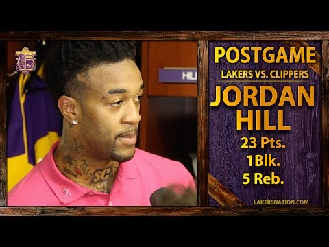Video: Lakers vs. Clippers: Jordan Hill Has 23 Points, Talks Byron Scott's System